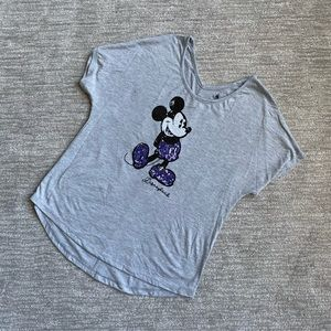 Disney Mickey Mouse sequined tee size XS